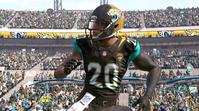Jalen Ramsey of the Jacksonville Jaguars in Madden NFL 17